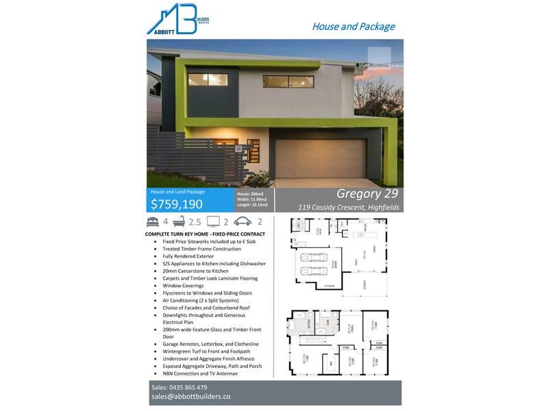 119 Cassidy Crescent Bridgeman Downs Qld 4035 - House for Sale ...