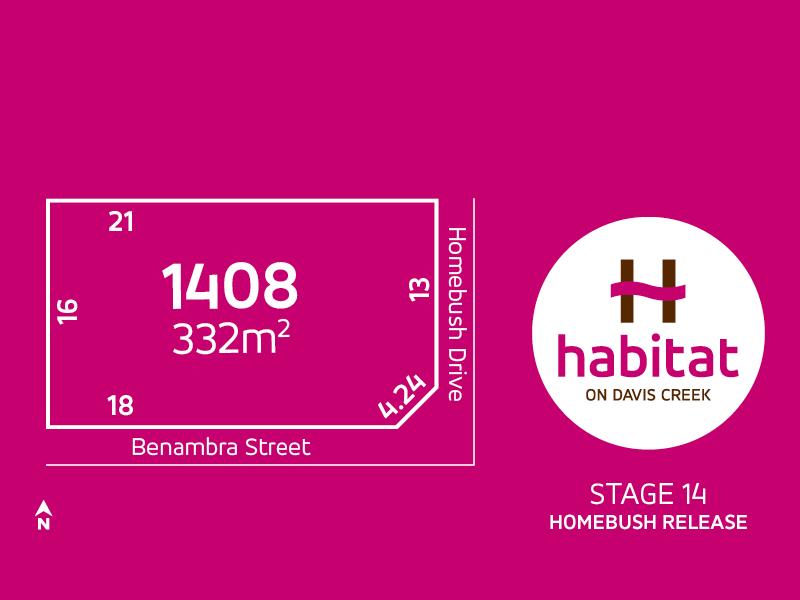 Lot 1408, Homebush Drive, Tarneit, Vic 3029
