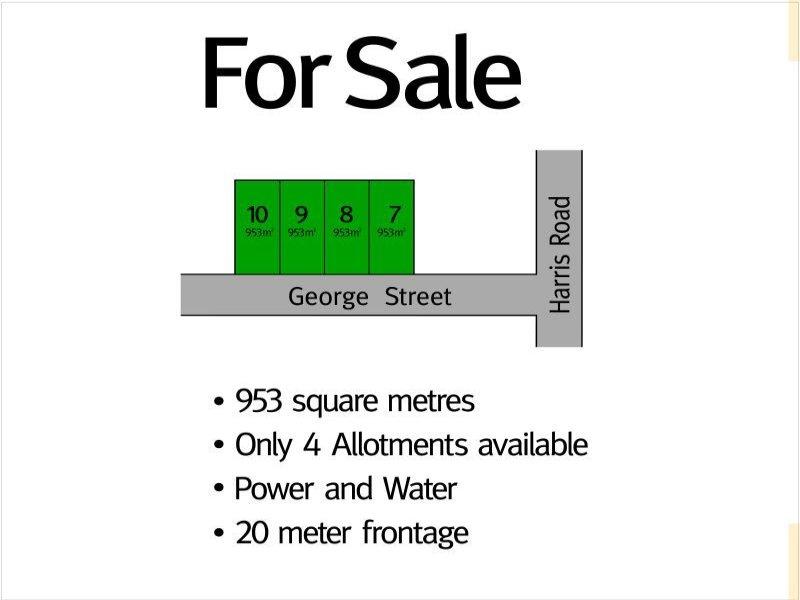 Proposed Allotments 7 8 9 10 George Street, Kadina, SA 5554