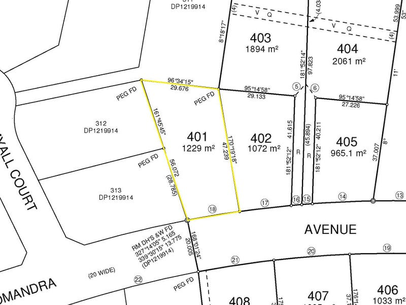 Lot 401 Lomandra Avenue, Caniaba, NSW 2480