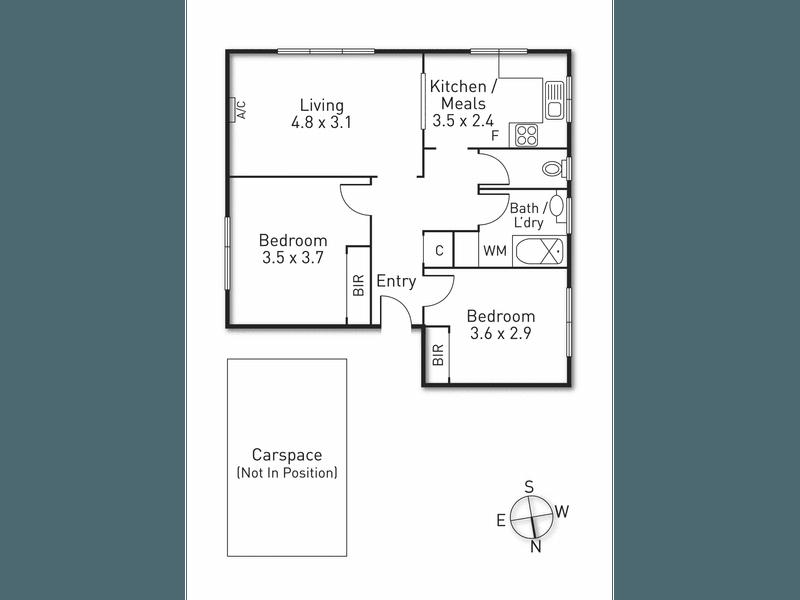 5/109 Victoria Road, Hawthorn East, Vic 3123 - floorplan