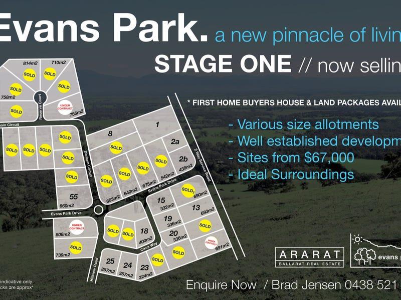 Lot 55, Evans Park, Ararat, Vic 3377