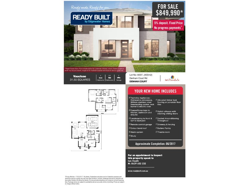 Lot 8007 Passiflora Avenue, Leppington