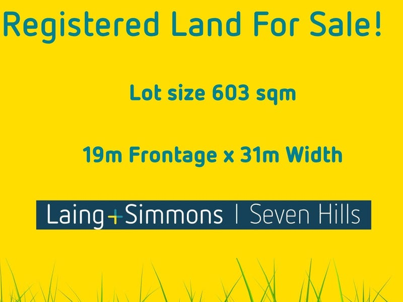 Lot 1063, 1270 Richmond Road, Marsden Park, NSW 2765