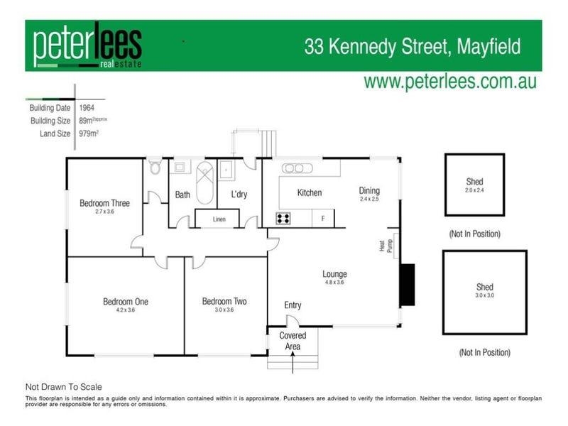 33 Kennedy Street, Mayfield, Tas 7248 - floorplan