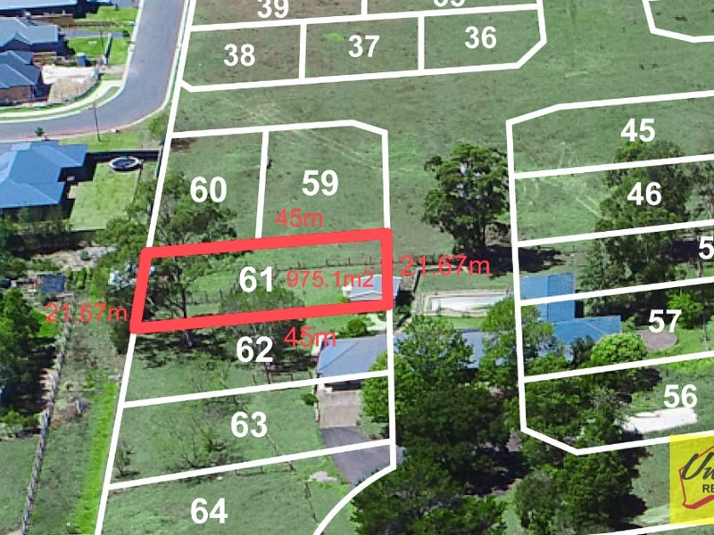Lot 61, 790 Montpelier Drive, The Oaks, NSW 2570