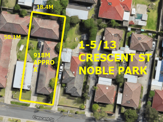 1-5/13 Crescent st, Noble Park, Vic 3174
