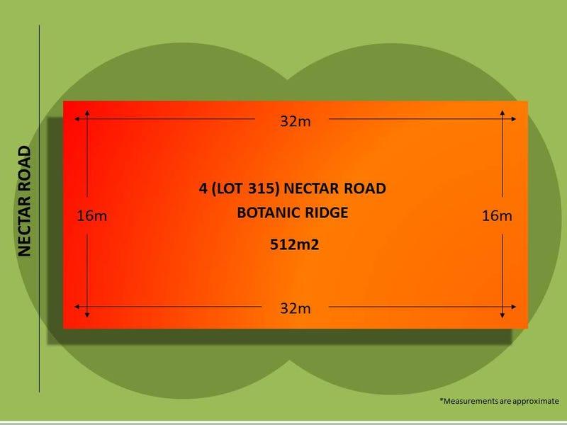 Lot 315, 4 Nectar Road, Botanic Ridge, Vic 3977