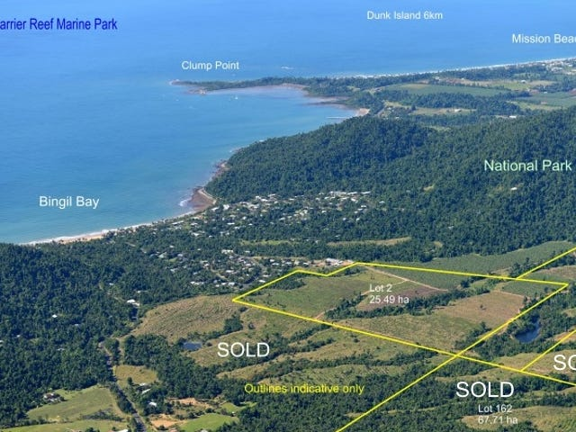 Lots 2 & 5 Bingil Bay Road, Bingil Bay, Qld 4852