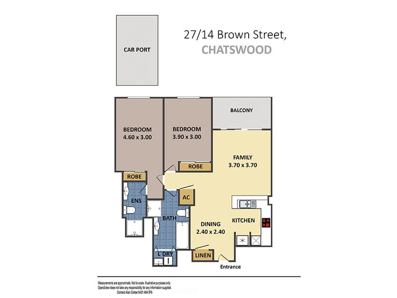 27/14 Brown Street, Chatswood, NSW 2067 - floorplan