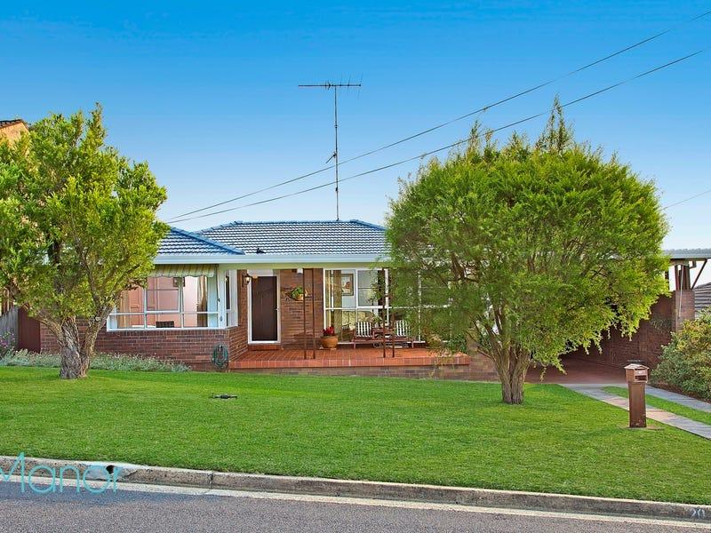 20 Sarah Crescent, Baulkham Hills, NSW 2153