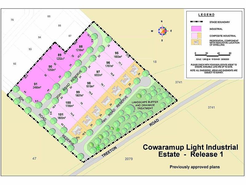 Lot 46 Treeton Road, Cowaramup, WA 6284