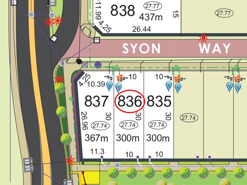 Lot 836, Syon Way, Piara Waters, WA 6112