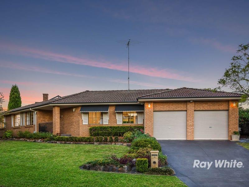 16 Chiltern Crescent, Castle Hill, NSW 2154