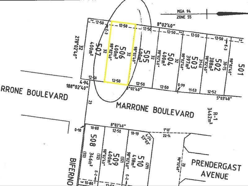 LOT 506 Marrone Boulevard, Cranbourne East