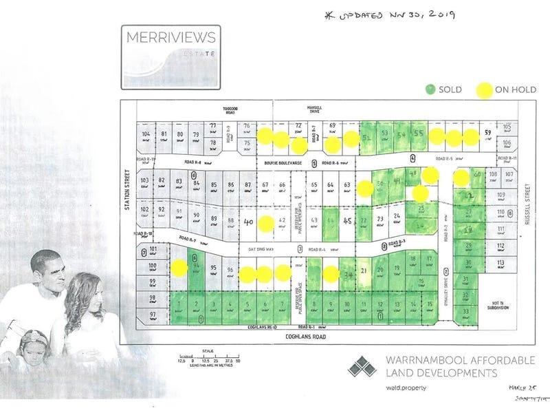 Stages 3 & 4 Merriviews Estate, Dennington, Vic 3280