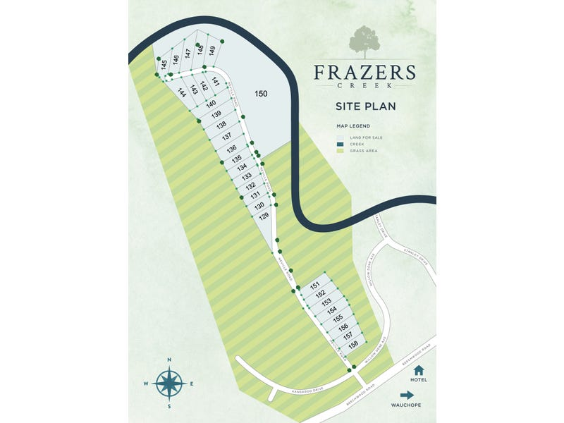 Lot 154 Frazers Creek Estate,, Beechwood, NSW 2446