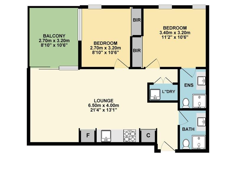 Unit 616, 2 Plenty Road, Preston, Vic 3072 - floorplan