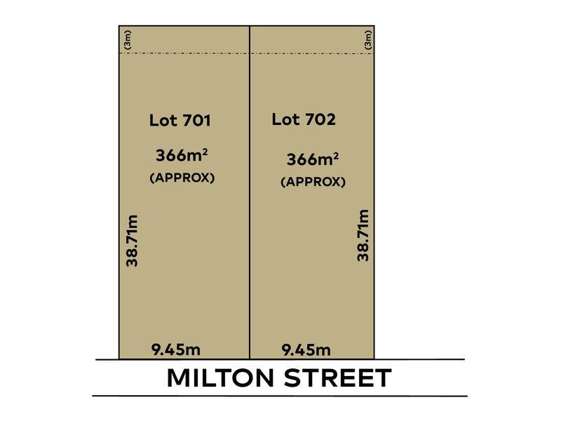 23   (Lots 701 & 702) Milton Street, Tea Tree Gully, SA 5091