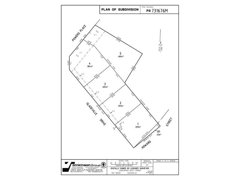 Lot 1-5, 10 Gladeville Estate, Eaglehawk