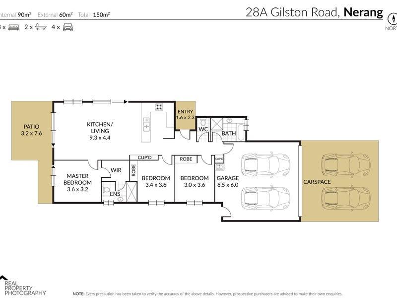 28A/64 'River Springs Country Club', Gilston Road, Nerang, Qld 4211 - floorplan