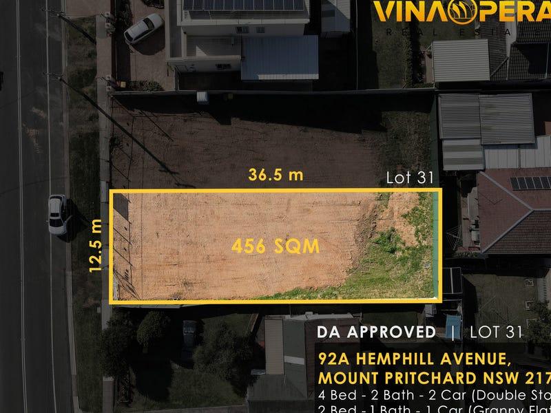 92A Hemphill Avenue, Mount Pritchard, NSW 2170