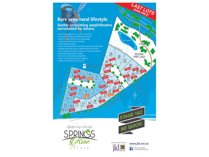 Lot 20 Springs Rise Estate, 5 Hillview Road, Brown Hill, Vic 3350