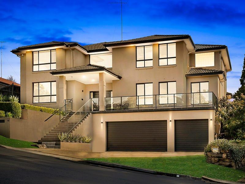16 Jarrah Place, Castle Hill, NSW 2154