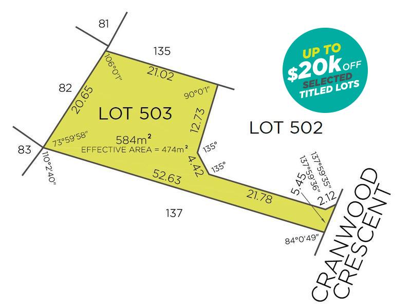Lot 503, 30 Cranwood Crescent, Viveash, WA 6056