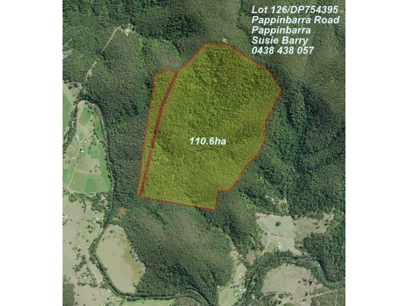 Lot 126 Pappinbarra Road, Pappinbarra, NSW 2446