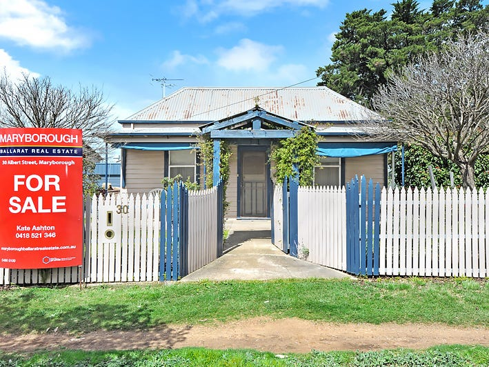 30 ALBERT STREET, Maryborough, Vic 3465