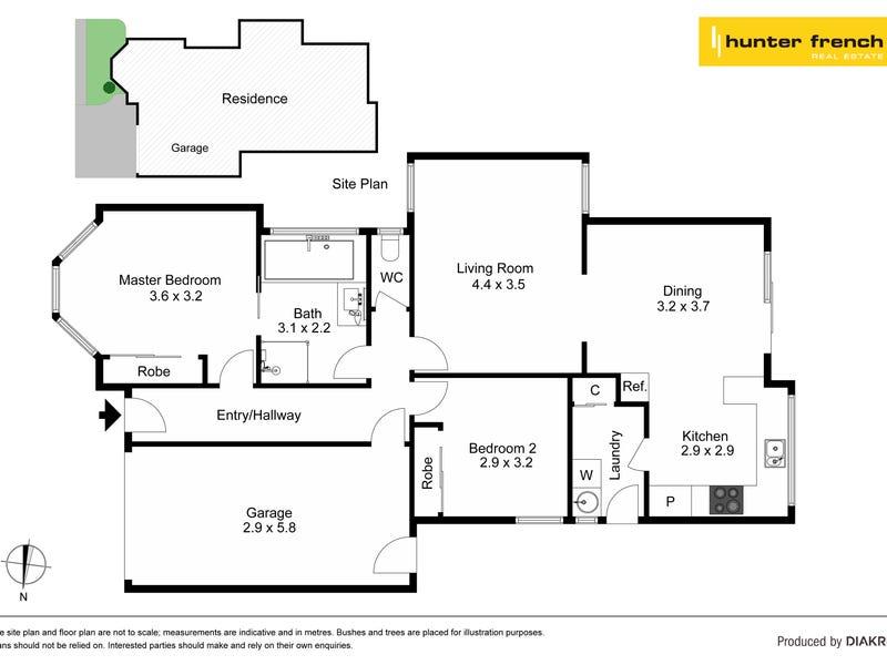 1/8 Douglas Court, Altona Meadows, Vic 3028 - floorplan