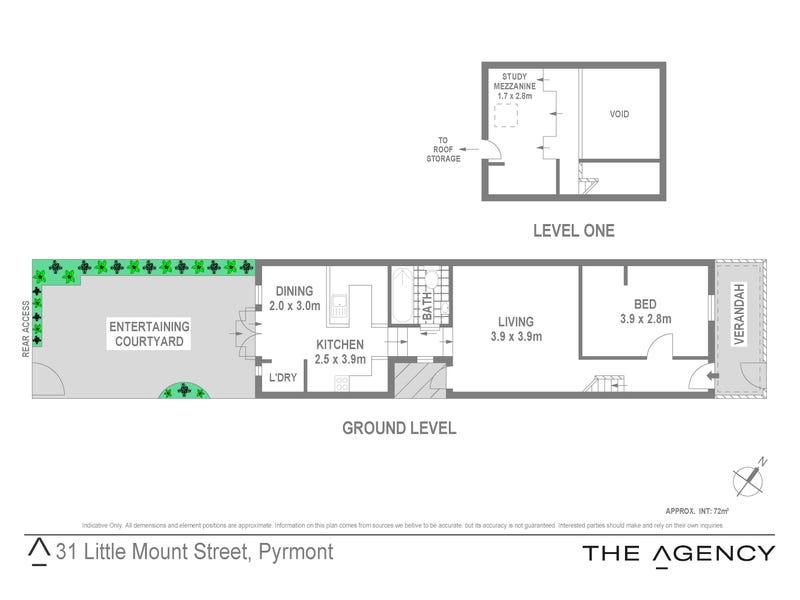 31 Little Mount Street, Pyrmont, NSW 2009 - floorplan