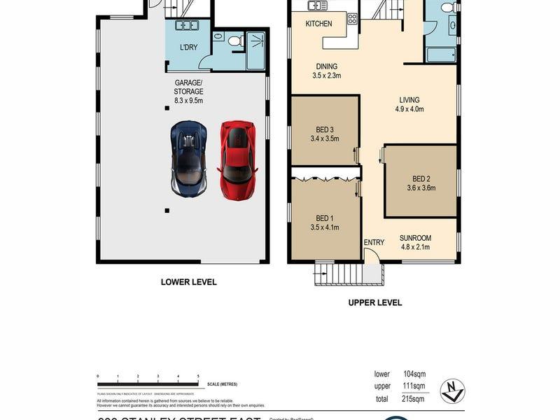 939 Stanley Street, East Brisbane, Qld 4169 - floorplan