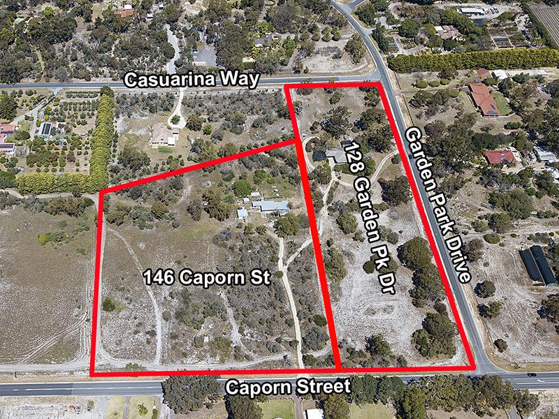 128 - 146  Caporn St & Garden Park Drive, Wanneroo, WA 6065