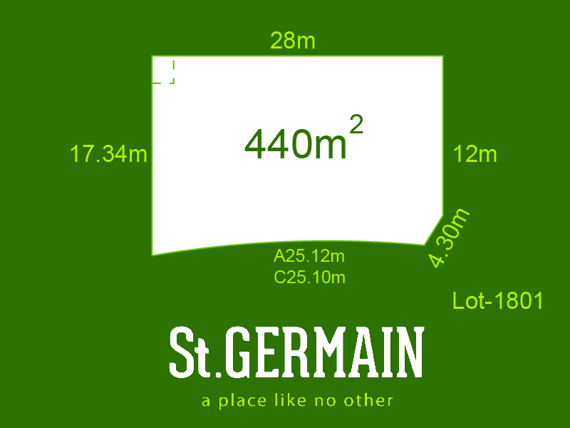Lot 1801, St Germain, Clyde North, Vic 3978