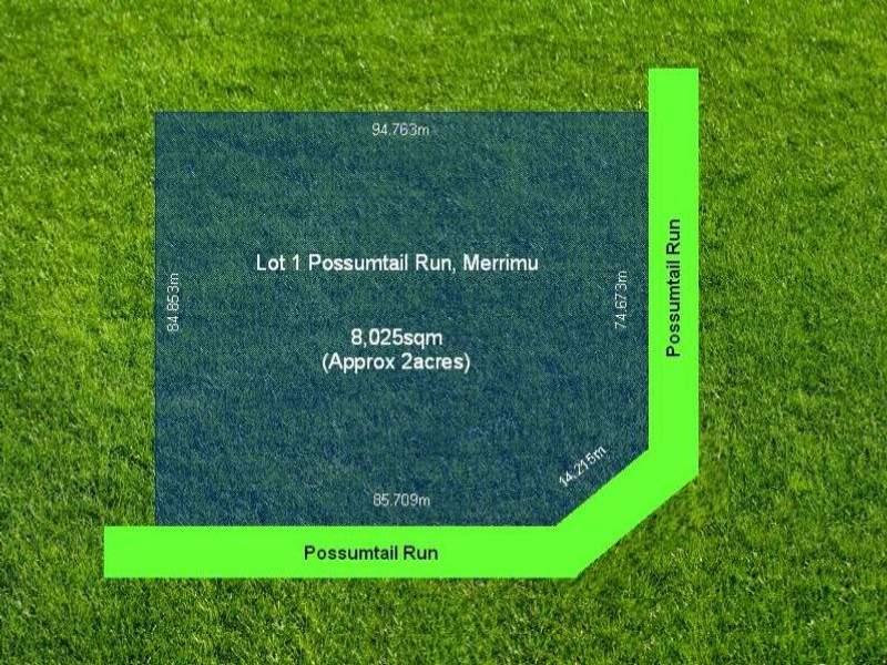 Lot 1 Possumtail Run, Merrimu, Vic 3340