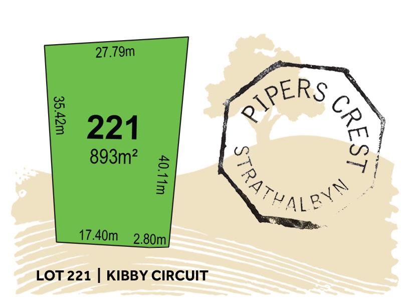 Lot 221, Kibby Circuit, Strathalbyn, SA 5255