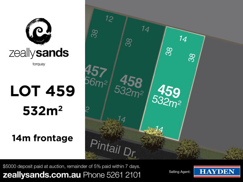 Lot 459 Zeally Sands  Estate, Torquay, Vic 3228