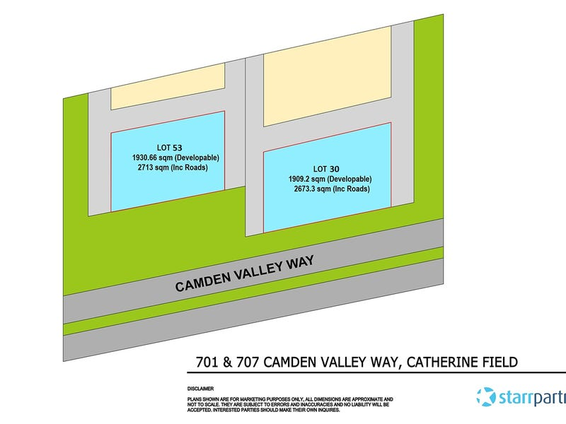 701 & 707 Camden Valley Way, Catherine Field