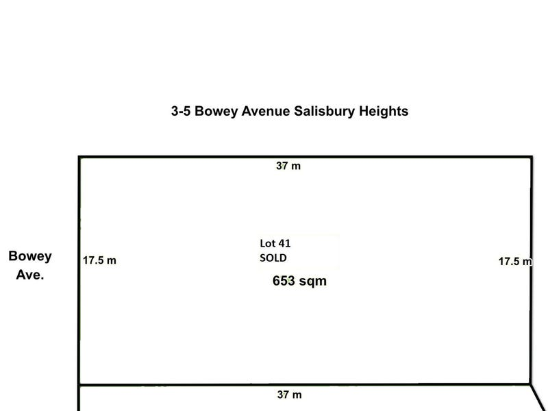 Lot 41, 3-5 Bowey Avenue, Salisbury Heights, SA 5109