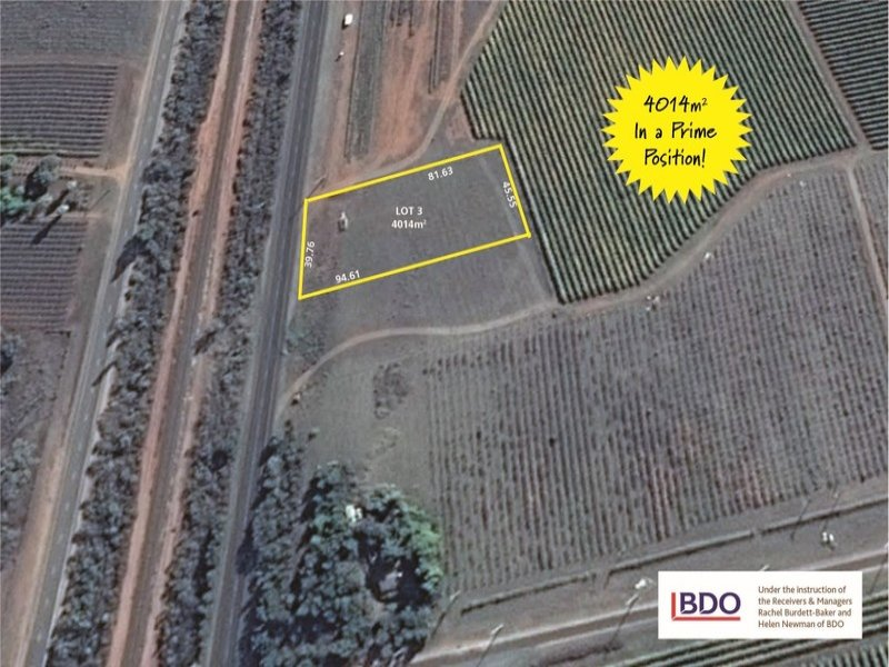 Lot 3 Calder Highway, Red Cliffs, Vic 3496