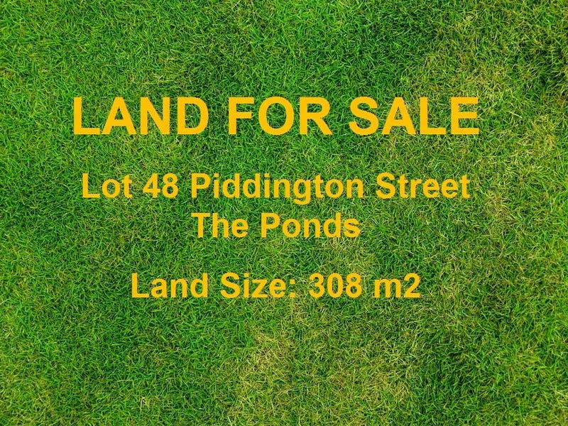 Lot 48 Piddington Street, The Ponds, NSW 2769