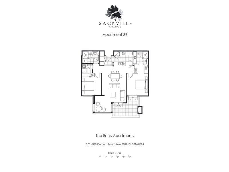 89/378 Cotham Road, Kew, Vic 3101 - floorplan