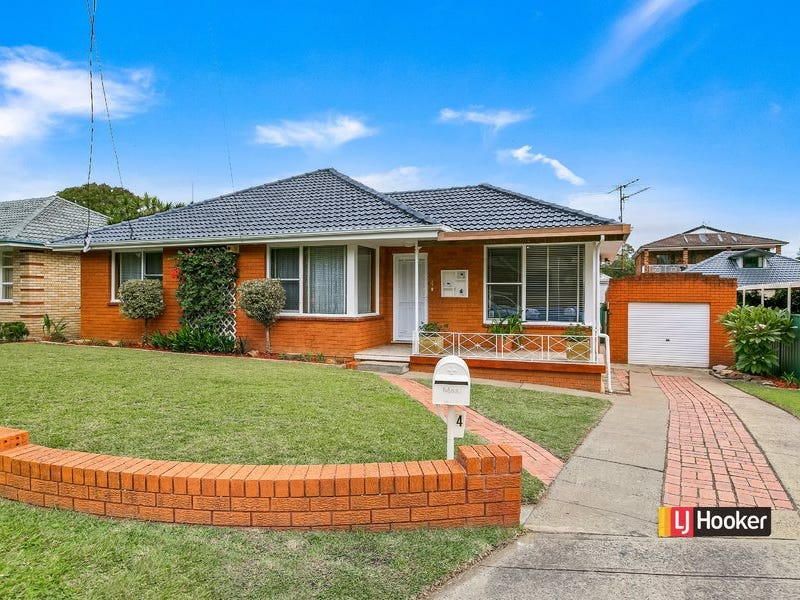 4 Bradley Crescent, Wiley Park, NSW 2195