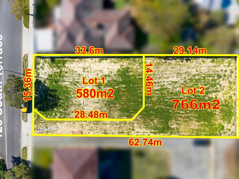 Lot 1 & 2 /123 South Terrace, Como, WA 6152