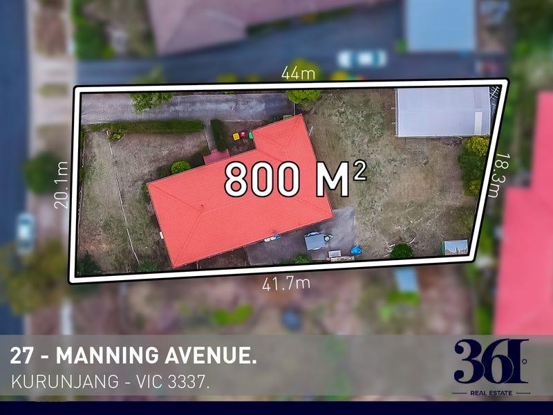 27 Manning Avenue, Kurunjang, Vic 3337