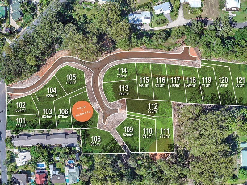 Proposed Lot 107 being part of Lot 135 Forest Road, Nambucca Heads, NSW 2448