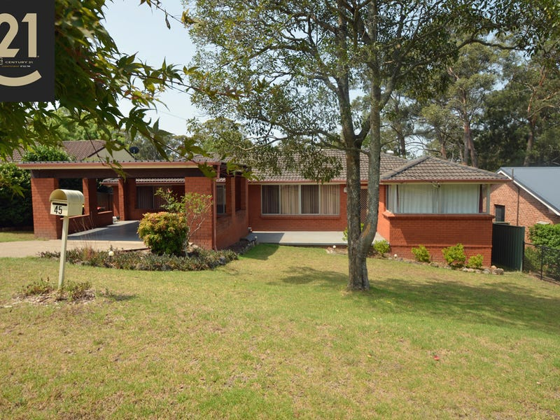 45  Crampton Drive, Springwood, NSW 2777