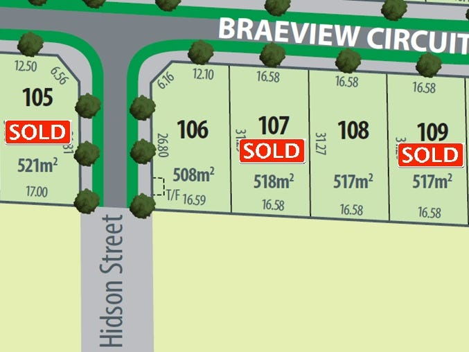 Lot 106, Braeview Circuit, Evanston